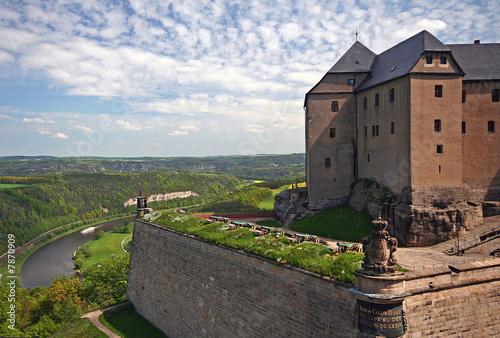Stampa su Tela Festung Königstein