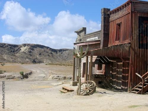 Foto-Kassettenrollo premium - Texas hollywood, Espagne (von Myrtille MLB)