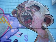 Graffiti Cara Expresion