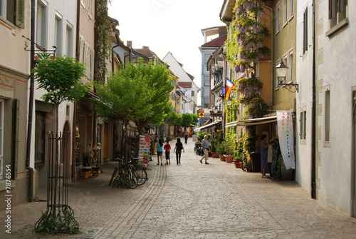 Photo sur Toile Europe Centrale Street of Radolfzell