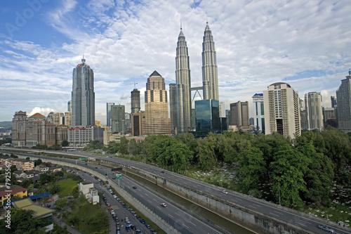 Foto op Aluminium Kuala Lumpur Kuala Lumpur skyline