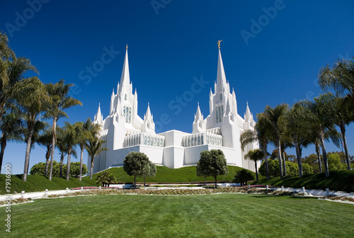 In de dag Temple San Diego LDS Temple