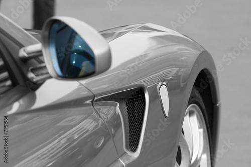 Fotografia, Obraz voiture de sport