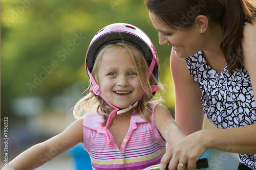 Fotografie, Obraz  Learning to Ride
