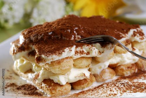 Poster Dessert Tiramisu