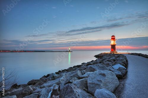 Foto-Leinwand - Leuchtfeuer (von Stephan Leyk)