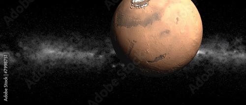 Mars Wallpaper Mural