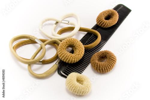 Carta da parati élastiques à cheveux