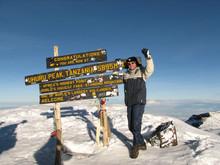 The Trekker On Kilimanjaro