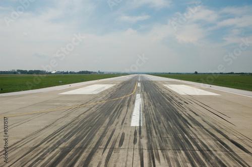 Flughafen Landebahn Canvas Print