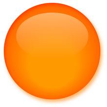 Glassy Orange Button