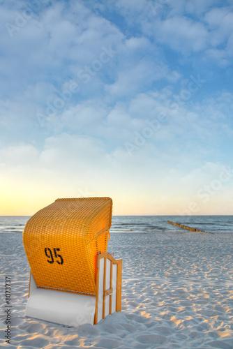 Foto-Schiebegardine Komplettsystem - Ostsee7
