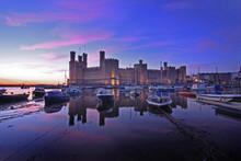 Caernarfon Castle And Battleme...