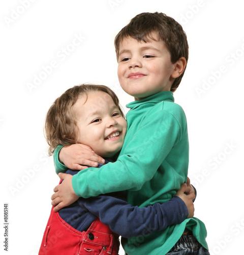 Fotografie, Obraz  due bambini