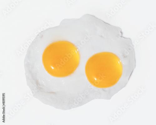 Deurstickers Gebakken Eieren spiegelei
