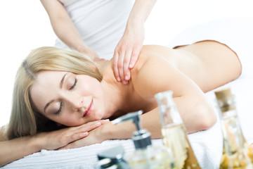 Obraz na płótnie Canvas Massage
