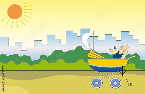 the little boy seaman
