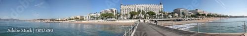 Fotografie, Obraz Panoramique La Croisette Cannes