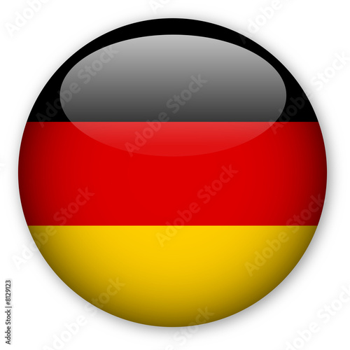 Fotografie, Obraz  German Flag button