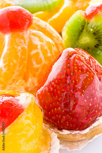 Poster Cuisine Some fruit cakes