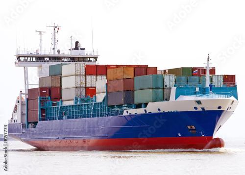 Fotografia  container ship