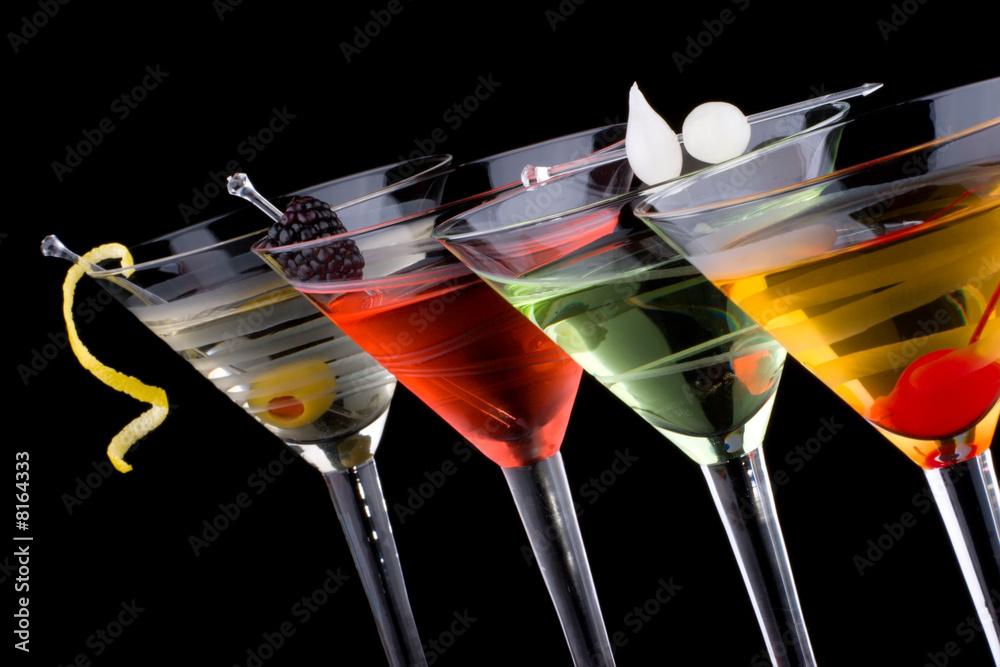 Fototapeta Classic martini - Most popular cocktails series
