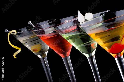 Fototapety, obrazy: Classic martini - Most popular cocktails series