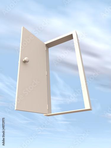 Foto  Tür zur Freiheit