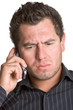 Stressed Phone Man