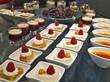 dessert büffet,creme karamell, rote grütze,panna cotta,kuchen