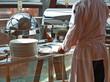 profikoch bereitet büffet,bankett gastronomie