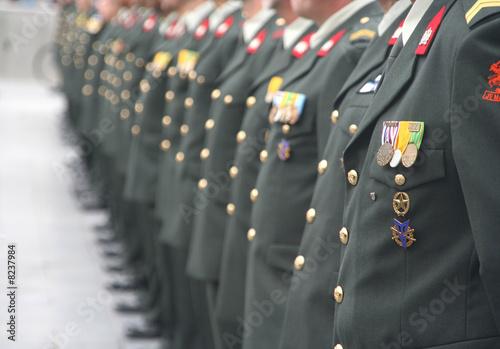 Fotografía  Soldiers at a Ceremony