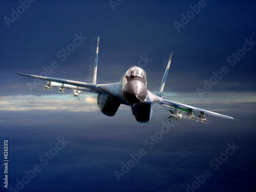 avion2chase Canvas Print
