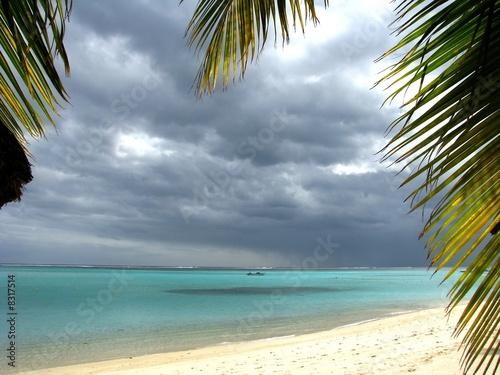 Spoed Foto op Canvas Oceanië Lagon, Ile Maurice