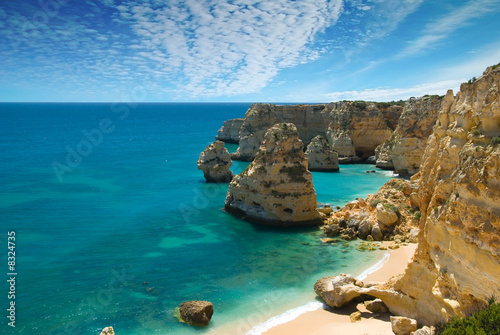 Aluminium Prints Sea Marinha Cove