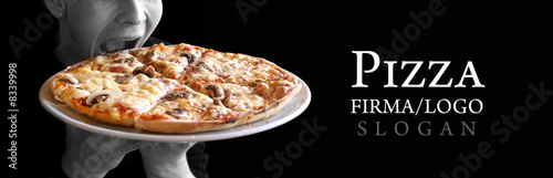Cadres-photo bureau Pizzeria Italienische Pizza