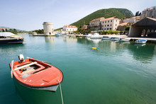 Mediterranean Port In Small To...