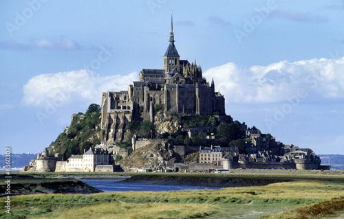 Mont St. Michel, Frankreich Fotobehang