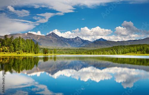 Carta da parati Mountain lake