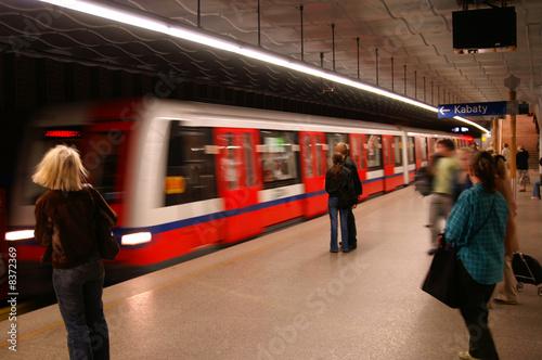 Fototapeta Metro obraz