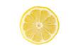 canvas print picture - Zitronenscheibe