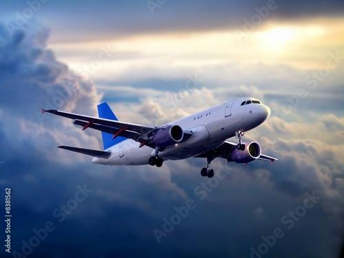 Fototapeta premium samolot