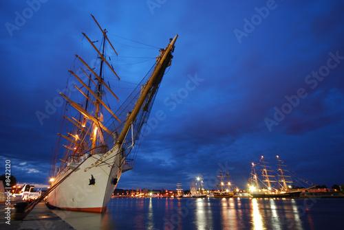 La pose en embrasure Port armada