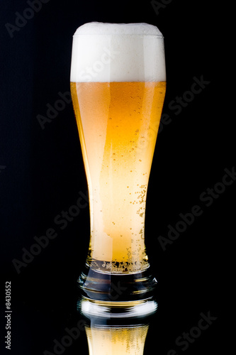 Foto op Plexiglas Bier / Cider Fresh foamy beer