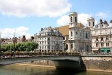 Besançon, Vue Sur Les Quais
