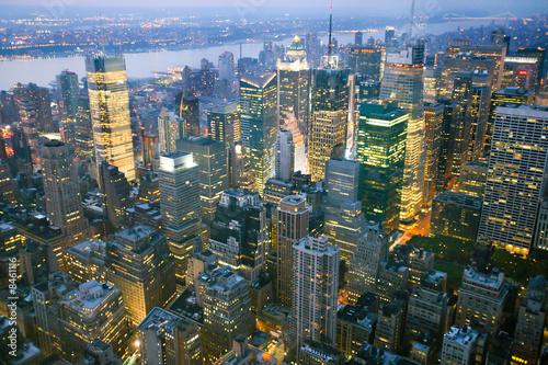 Foto-Kassettenrollo premium - USA, New York from Empire State Building