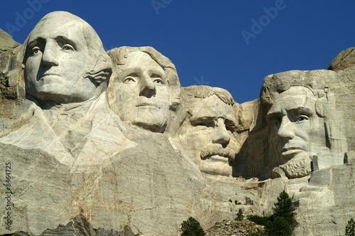 Foto-Kassettenrollo premium - Mount Rushmore National Monument, South Dakota (von Ralf Broskvar)