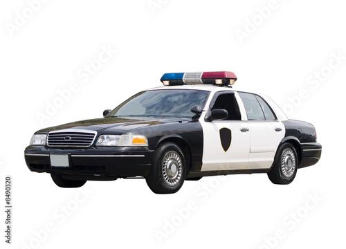 Fotografie, Obraz  Police Car