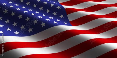 American Flag Fototapet