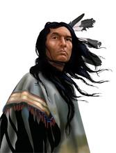 Lakota Warrior Su Bianco